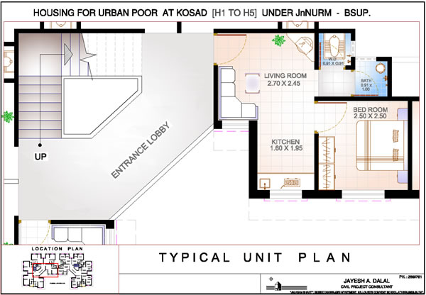 Typical Flat Plan - Kosad