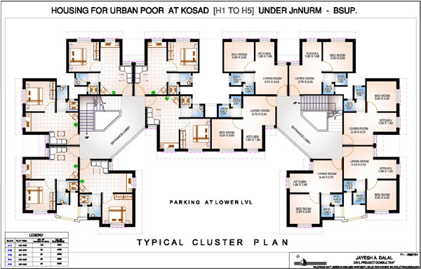 Typical Floor Plan - Kosad