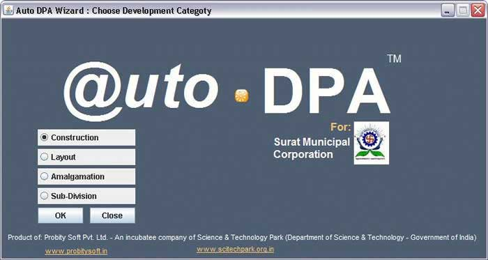 Auto DPA - Building Plan Approval System - Screenshot