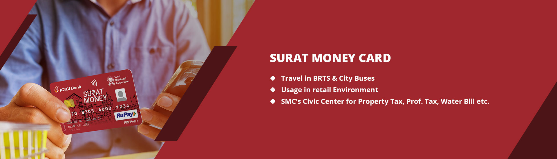 Surat Money Card - Surat Municipal Corporation